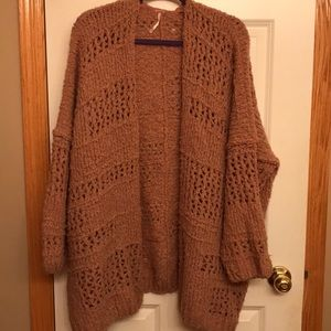 XS Free People oversized sweater